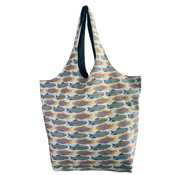 Fishies Utility Beach Bag