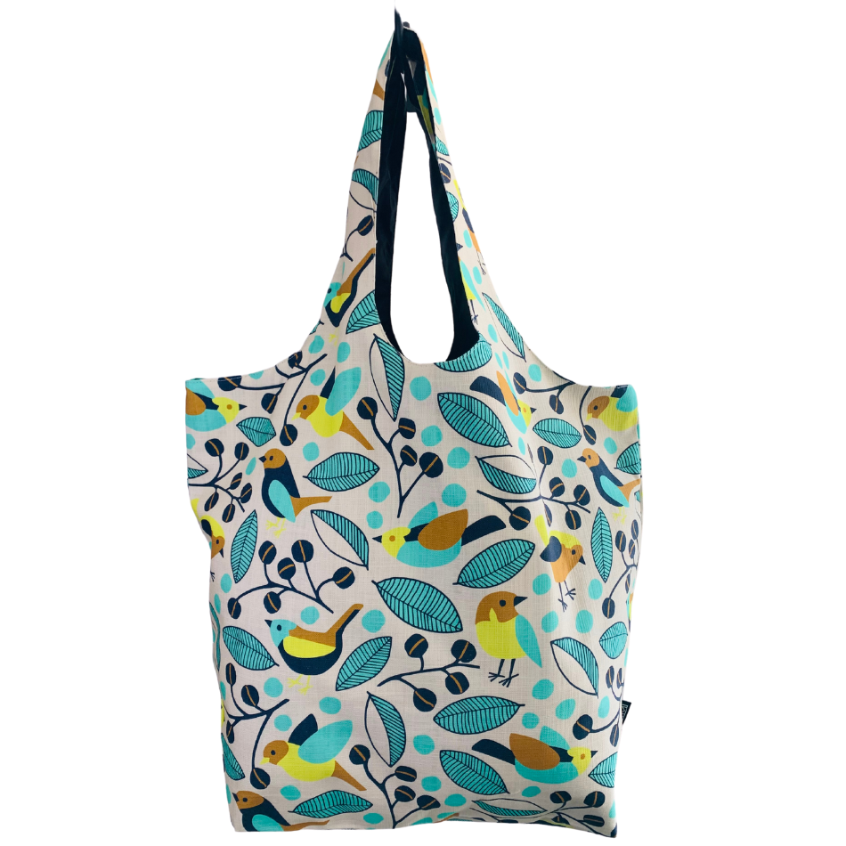 Flutter Blue Utility Beach Bag