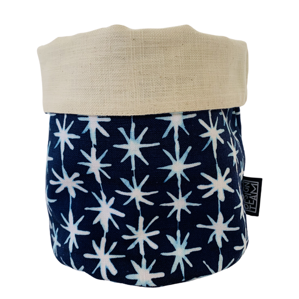 Decorative Holder Indigo Star