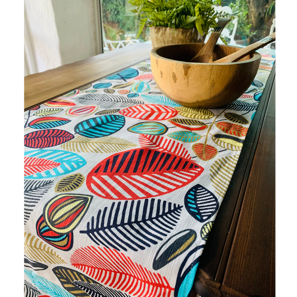 Table Runner Stillo Aqua