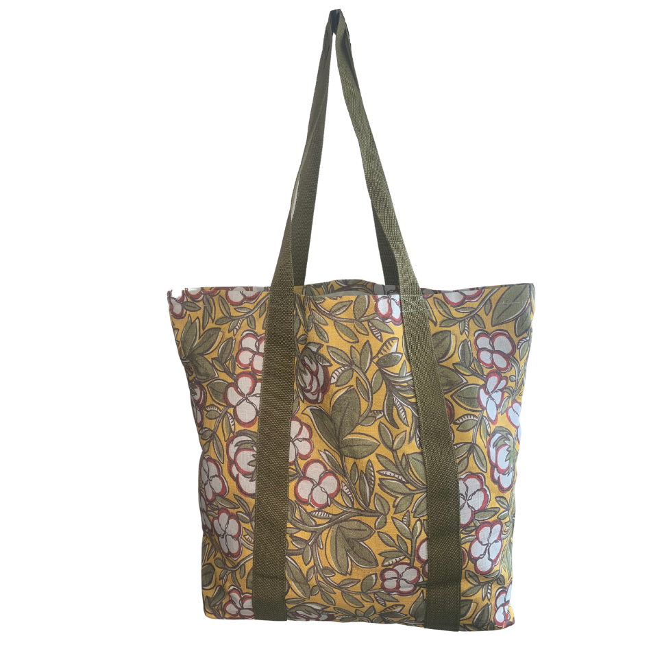 Cotton Turmeric Grocery Bag