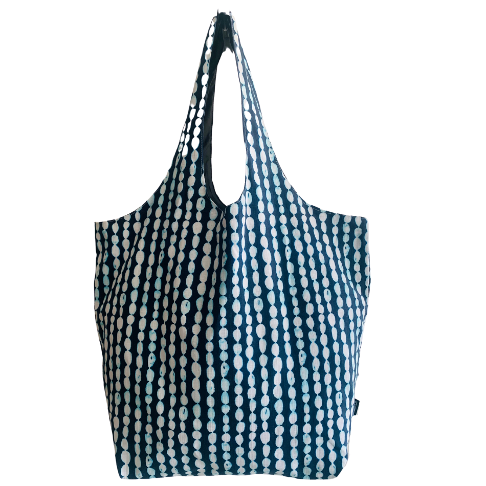 Indigo Pebble Utility Beach Bag
