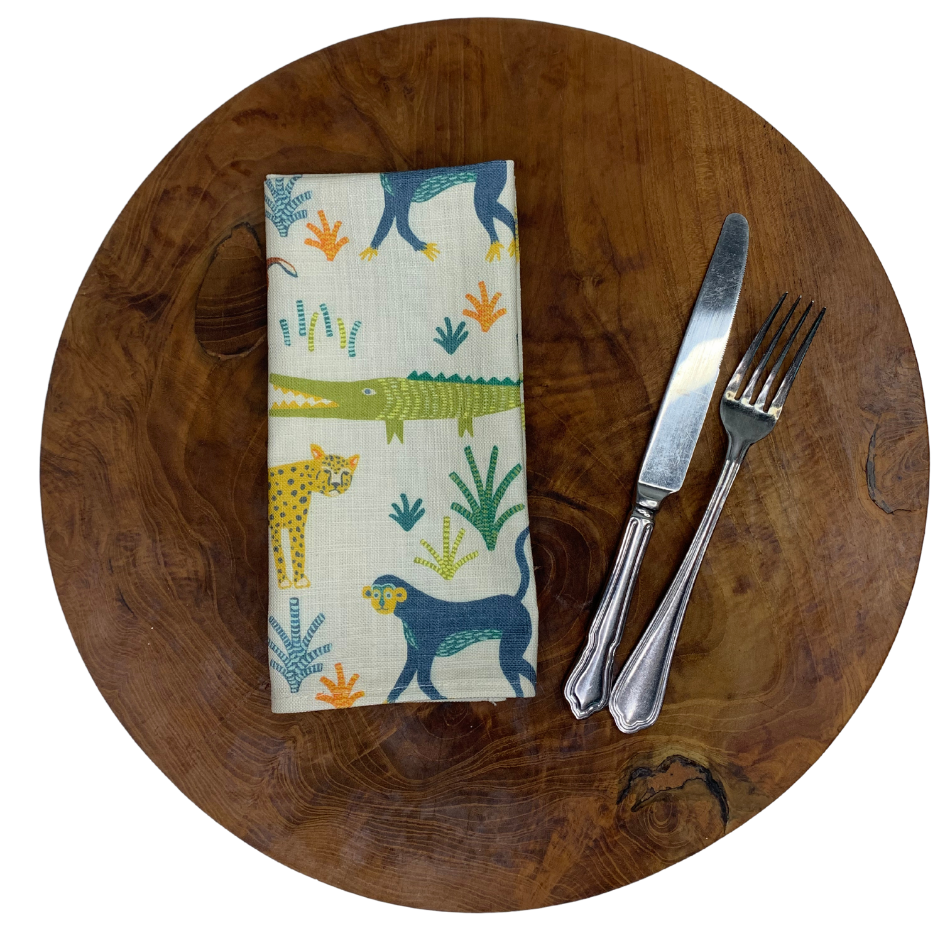 Napkin Set of 2 Safari Day
