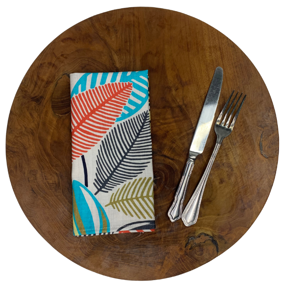 Napkin Set of 2 Stillo Aqua