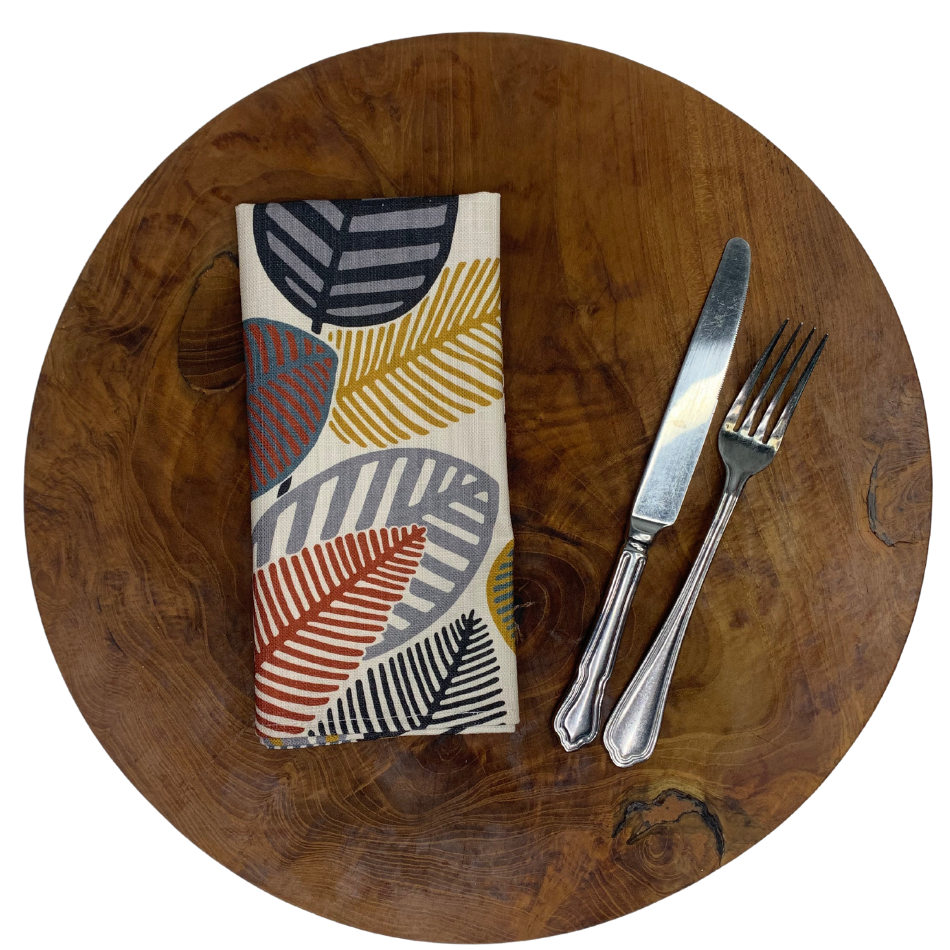 Napkin Set of 2 Stillo Kidney Bean