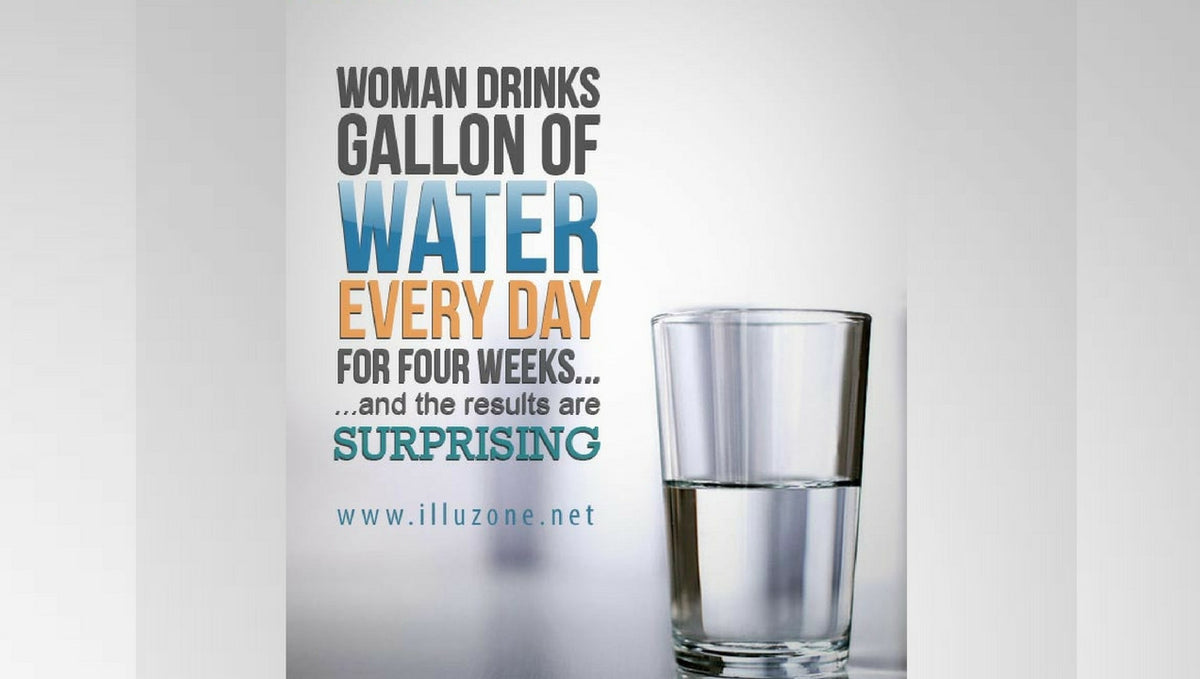 4 Week Test Drinking Water With Surprising Results