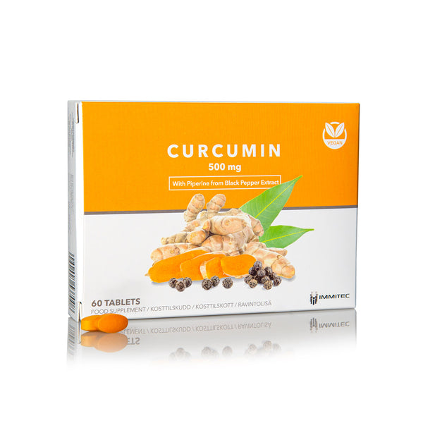 Curcumin 500mg With Piperine from Black Pepper Extract
