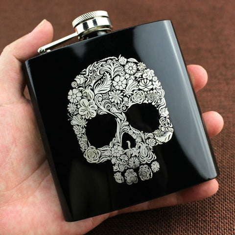 Phantom Liquor Flask (6oz 180ml)