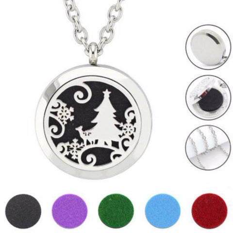 Aromatherapy Oil Diffuser Locket