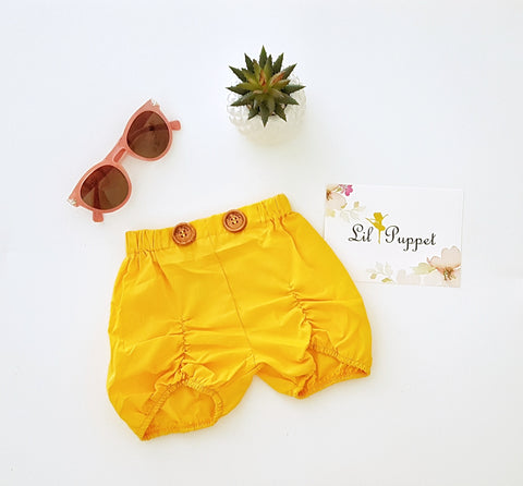 Mango Button shorts