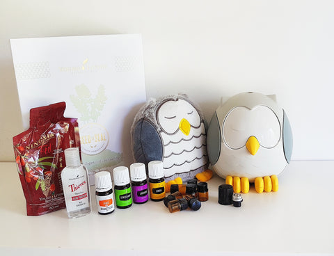 Feather the Owl Diffuser/Soundmachine/Nightlight/Humidifier + Oil Set + Membership + Shipping