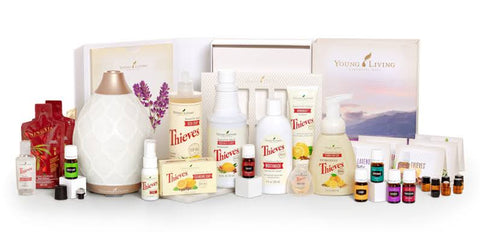 Young Living Healthy Home Premium Starter Kit with Dessert Mist Diffuser + Membership + Shipping