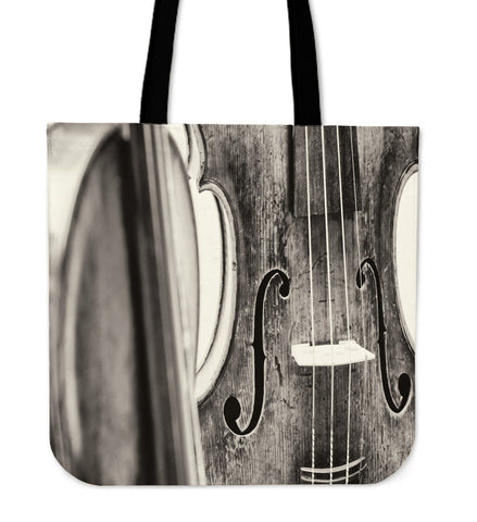 Cello Art Tote Bag