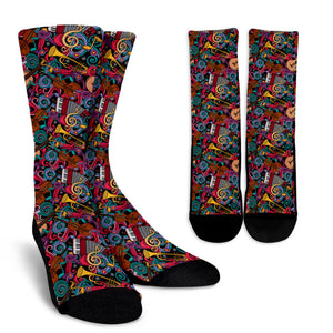 Instruments United Socks