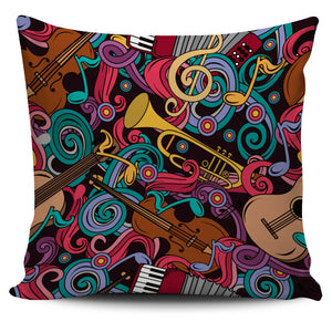 Instruments United Pillow