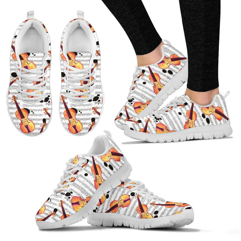 Violin Shoes. Womens Sneakers