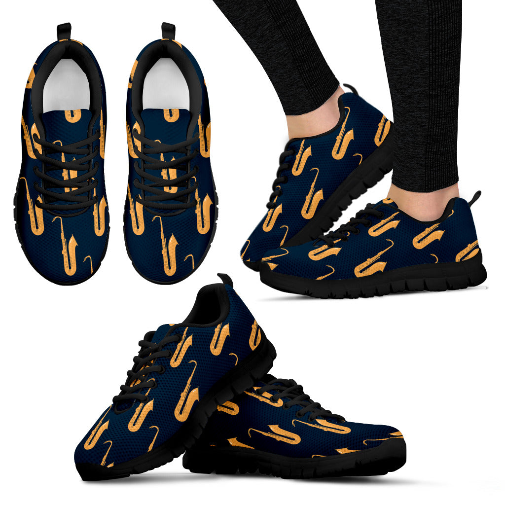 Saxophone Shoes. Womens Sneakers