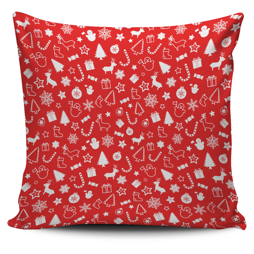 Christmas Pillow Red