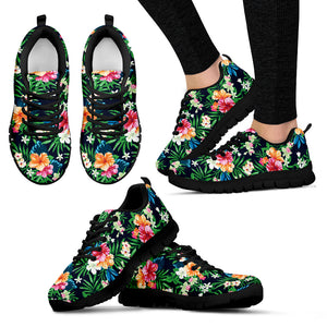 Womens Sneakers Flower