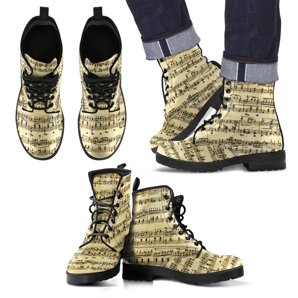 Sheet Music Shoes,  Mens Boots
