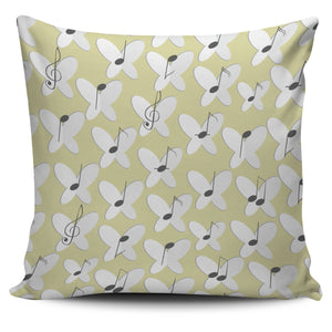 Notes and Flowers Pillow