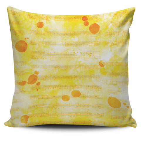 Pillow Yellow Sheet Music Design