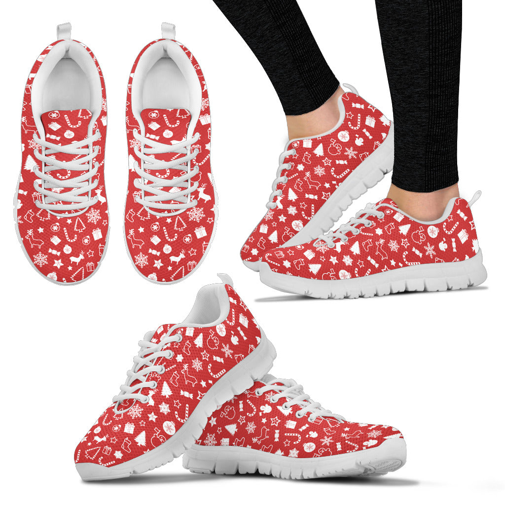 Christmas Shoe.Womens Christmas Sneakers Shoes