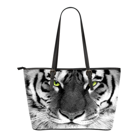 Tiger Small Leather Handbag