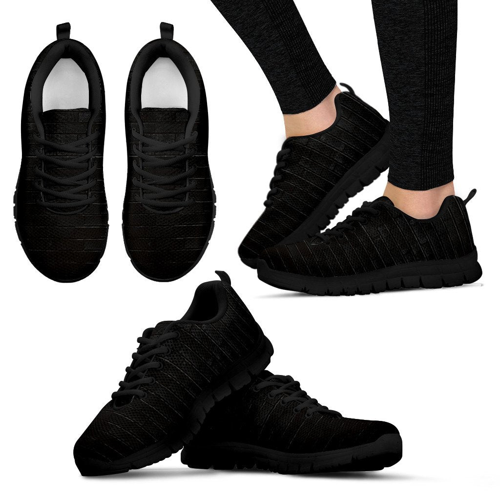 Brick Wall Desgin Shoes Womens Sneakers
