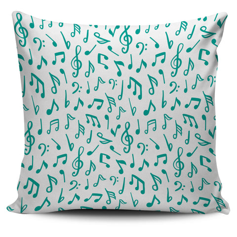 Pillow White and Green