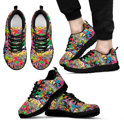 Image of Grafitti Sneakers. Express Delivery