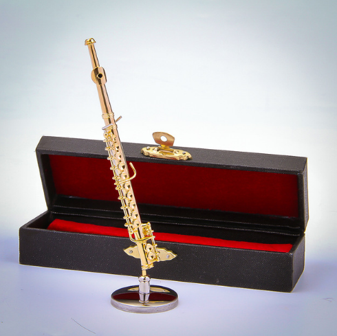 Music Instrument Ornament  Small Size Flute 11cm