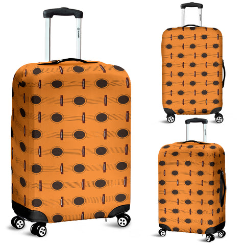 Image of Guitar strings luggage cover