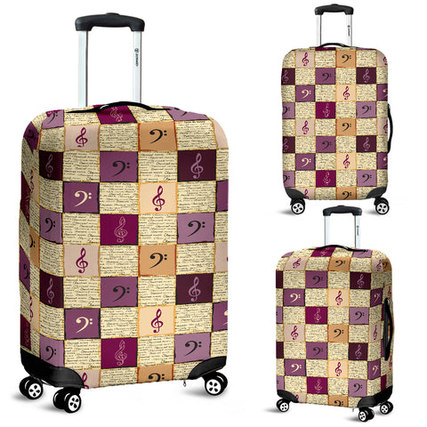 Image of Treble Clef & Bass Clef Luggage Covers