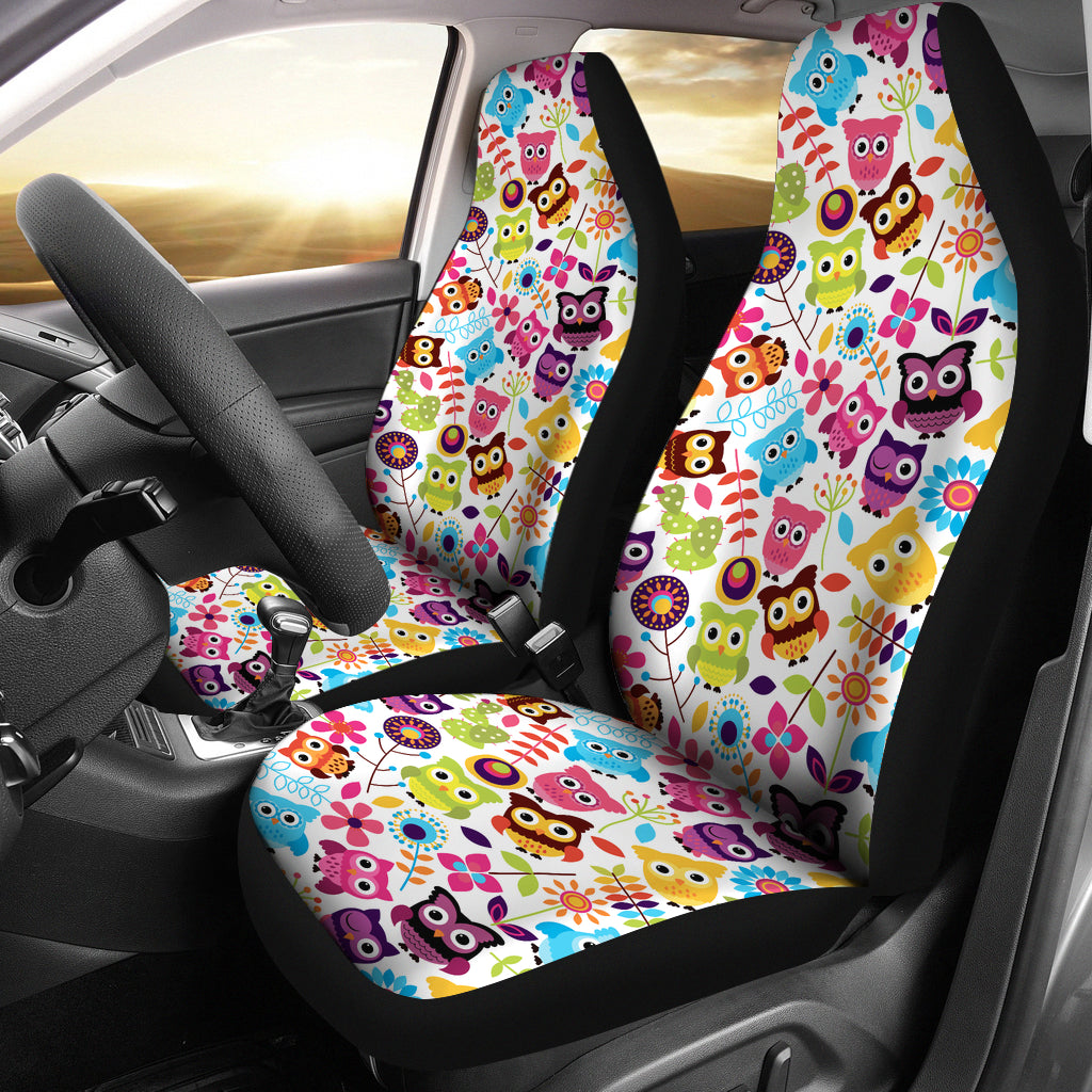 Car Seat Cover Owl Tap To Expand