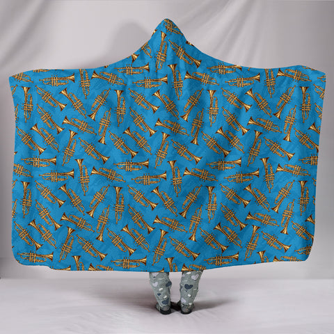 Image of Trumpet Hooded Blanket,  Cozy Style