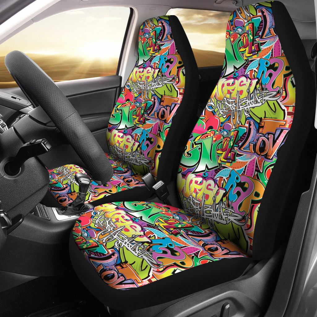 Car Seat Cover Grafitti