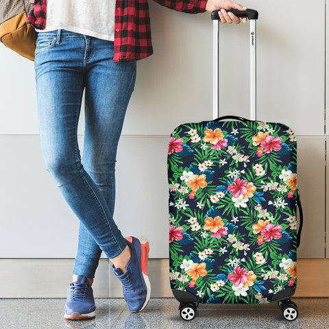 Image of Flower Power Luggage Cover