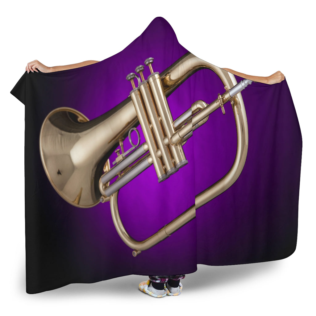 Flugelhorn Cosy Hooded Blanket