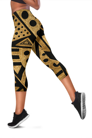 Africa Women's Capris Panther Style - leggings