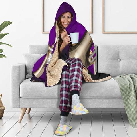 Image of Flugelhorn Cosy Hooded Blanket