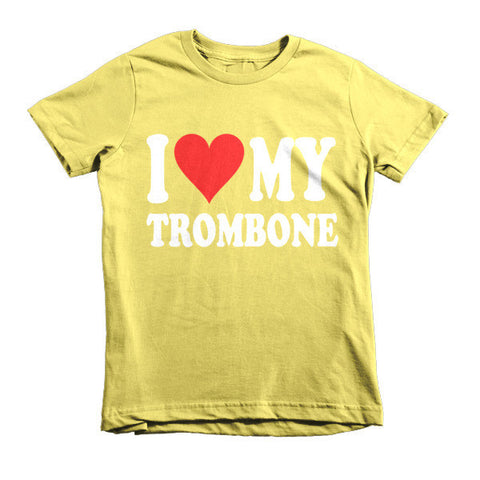 Image of I Love My Trombone, Childrens t-shirt