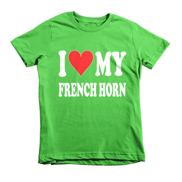 I Love My French Horn, Childrens t-shirt