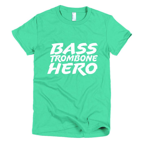 Image of Bass Trombone Hero, Short sleeve women's t-shirt