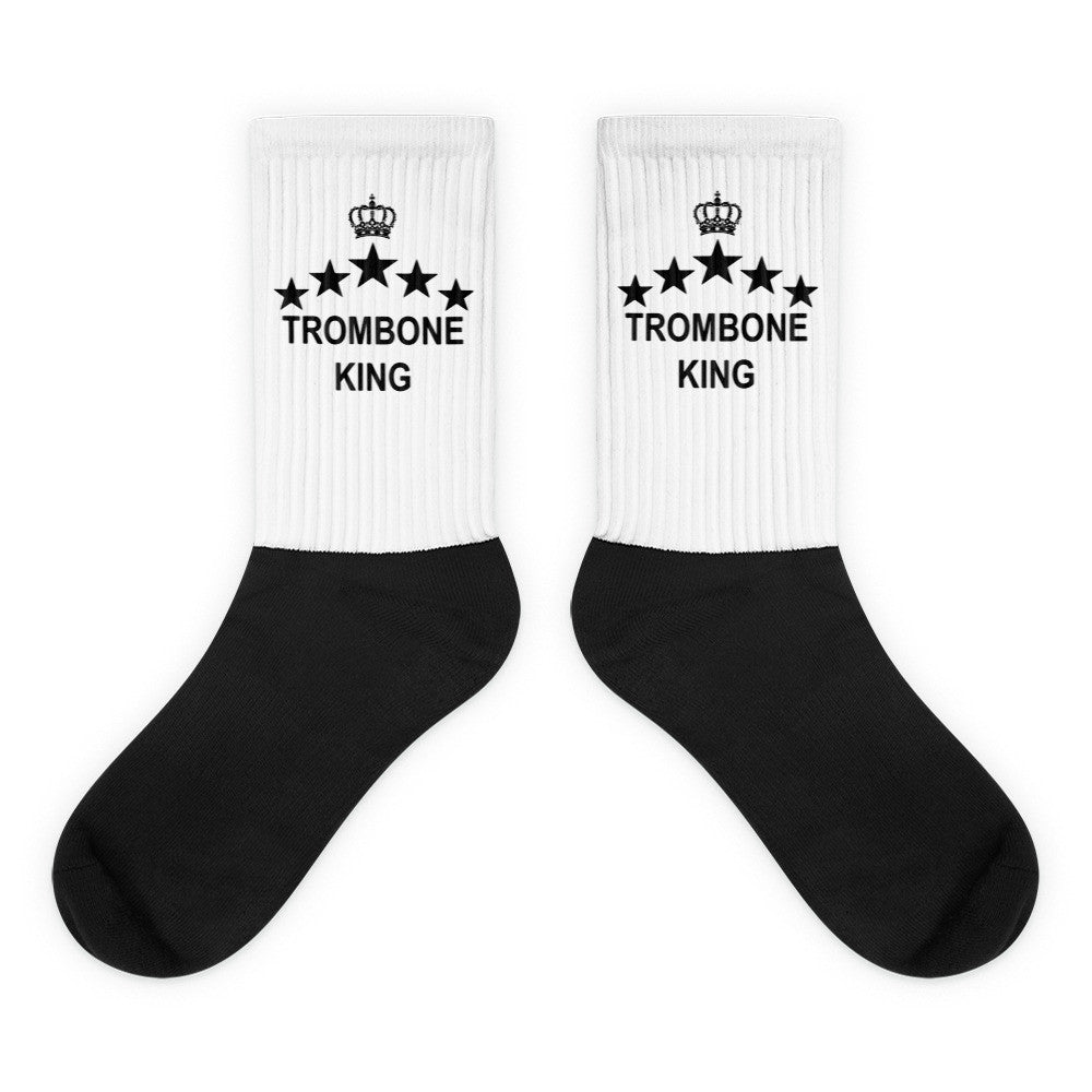 Trombone King, Black foot socks