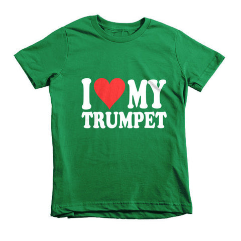 I Love My Trumpet, Childrens t-shirt