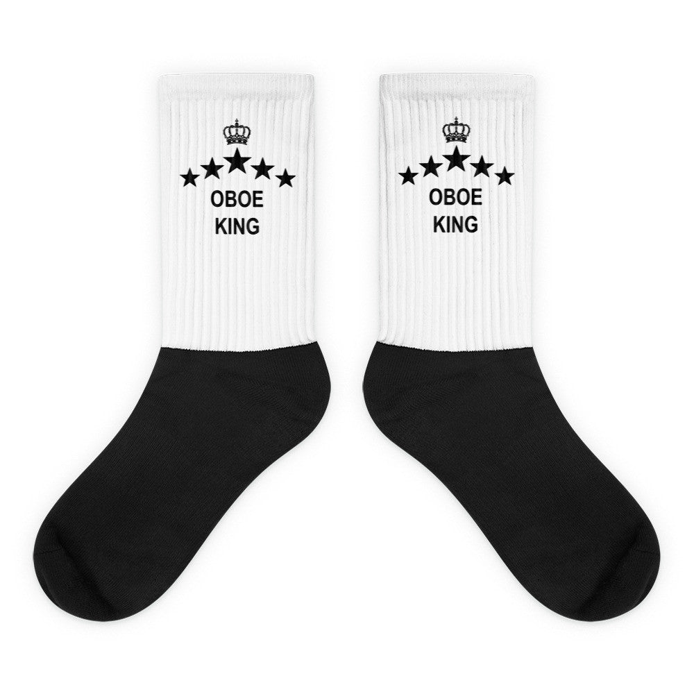 Oboe King, Black foot socks