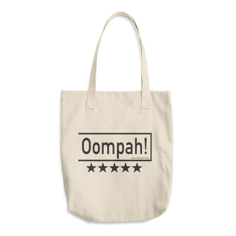 Image of Oompah!, Cotton Tote Bag