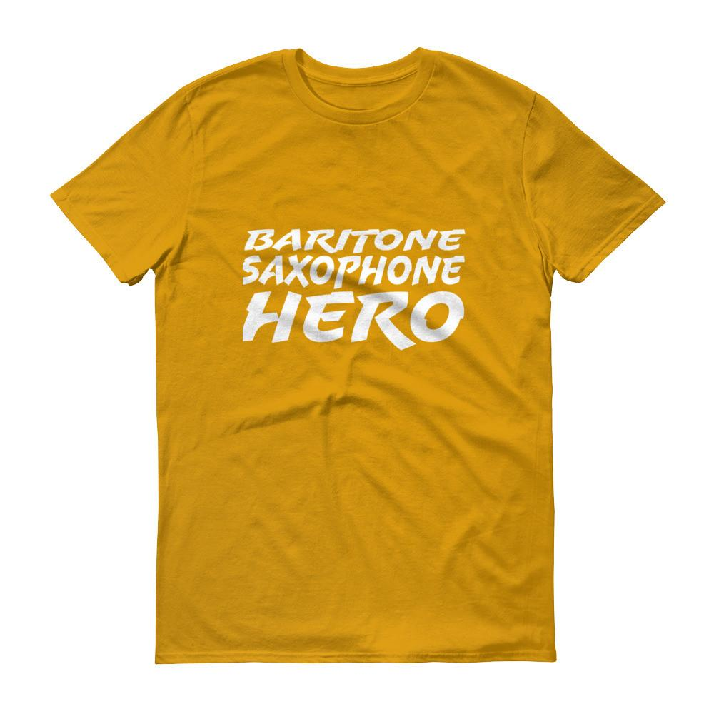 Baritone Saxophone Hero, Short sleeve t-shirt