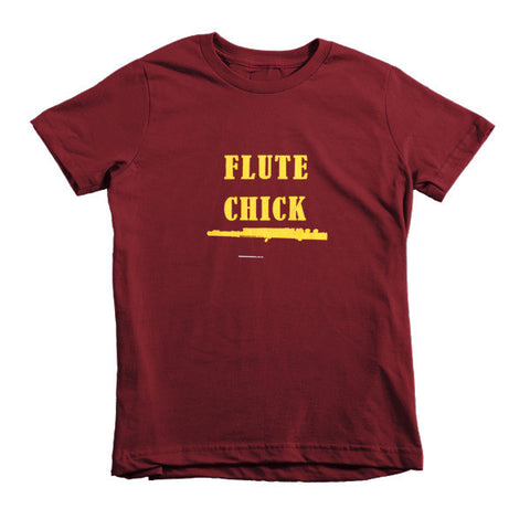 Image of Flute Chick, Childrens T-shirt